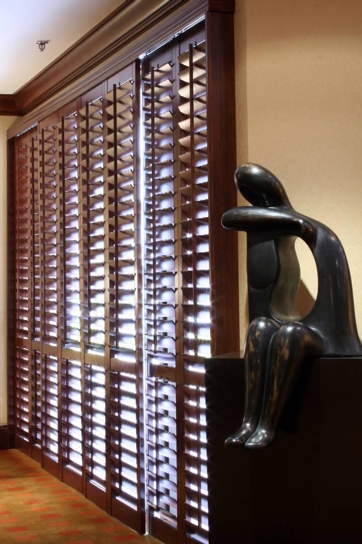 Wood shutters over sliding glass doors sliding door designs plantation shutters for sliding glass doors doggy door ej s home improvements inc 949 366 2006 planetlyrics Image collections
